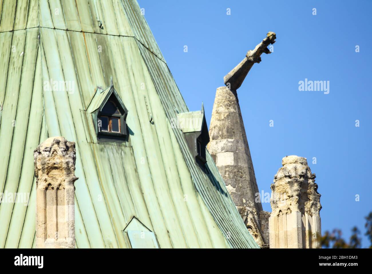 Zagreb Croatia April 17 2020 Damaged Parts Of The Zagreb Cathedral After A Major Earthquake Of 5 5 On The Richter Scale Witch Was On 22 Of March Stock Photo Alamy