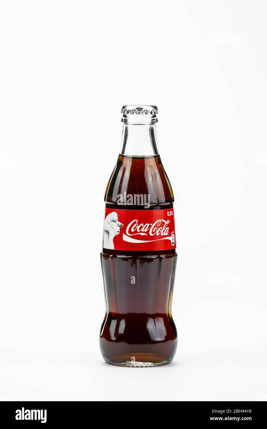 not empty Coca Cola Turkey 2018 Christmas FULL bottle