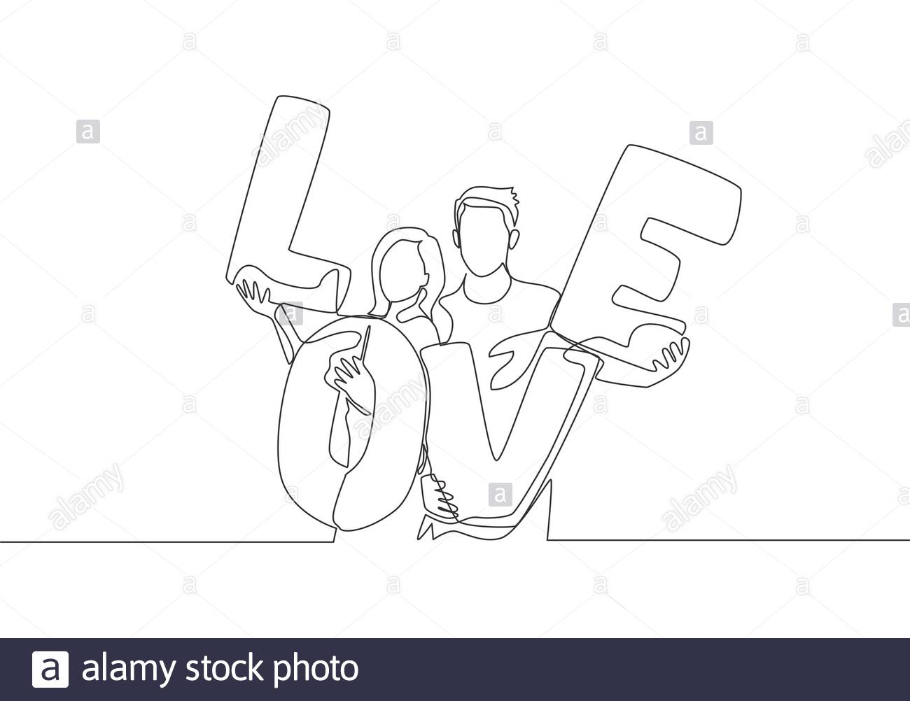 Marriage And Romance Love Letter from c8.alamy.com