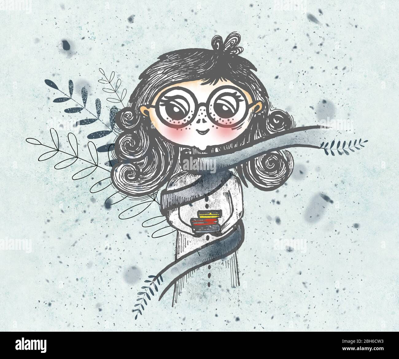 Cartoon Big Eyes High Resolution Stock Photography And Images Alamy