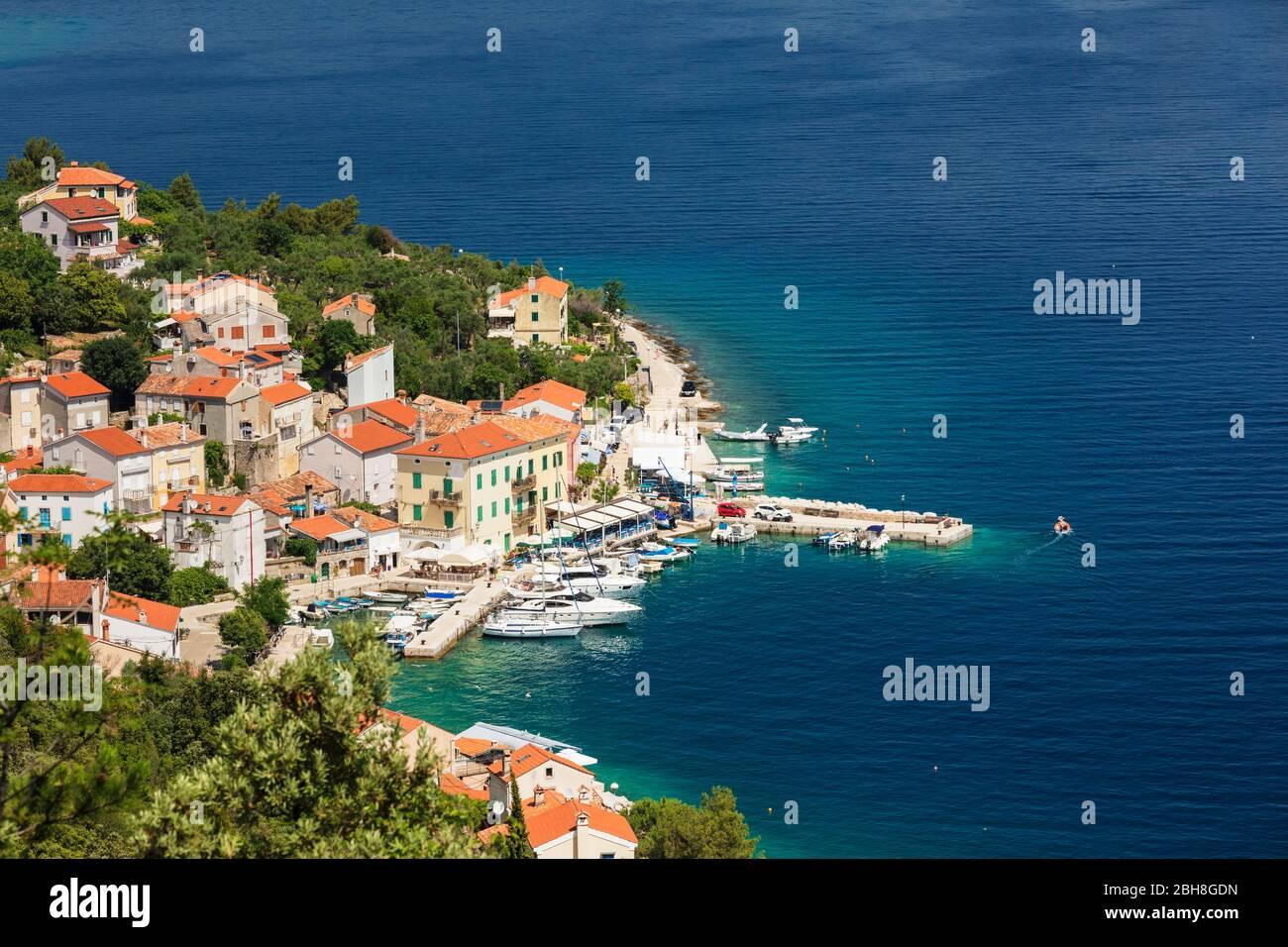 Valun, Cres Island, Kvarner bay, Croatia Stock Photo