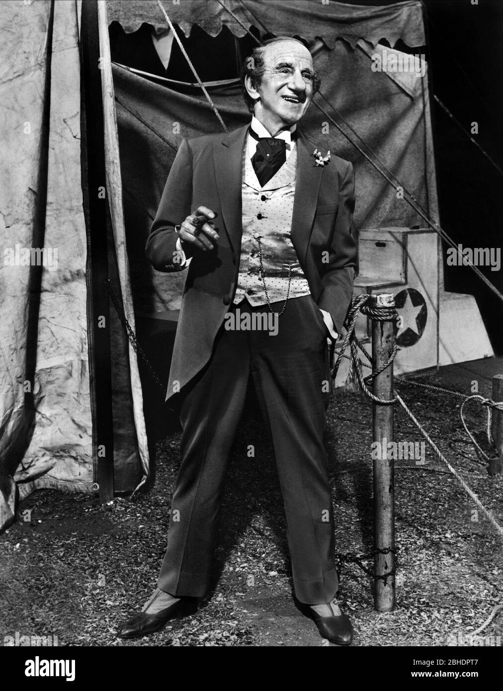 JIMMY DURANTE, BILLY ROSE'S JUMBO, 1962 Stock Photo