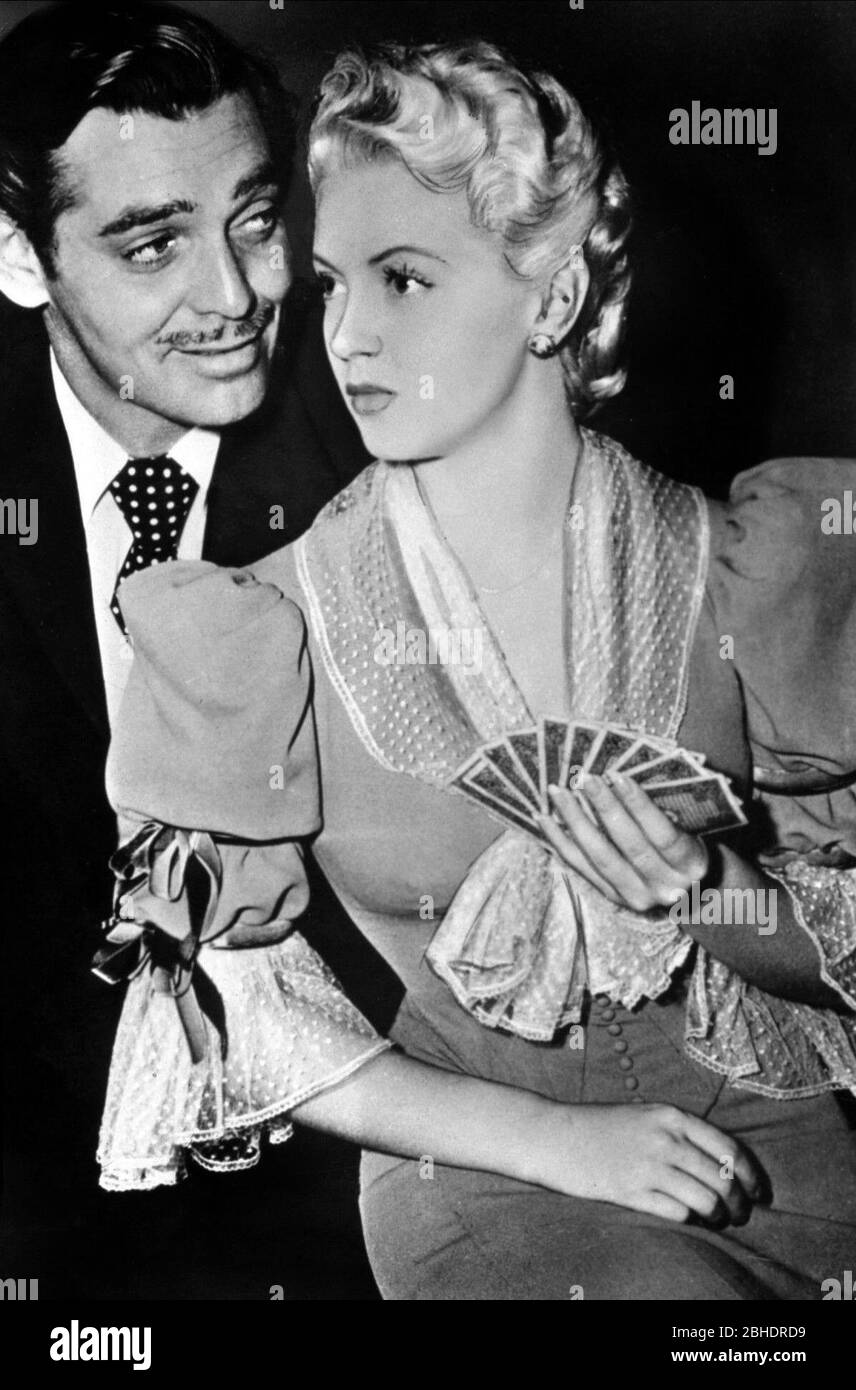 Clark Gable Lana Turner Honky Tonk 1941 Stock Photo Alamy