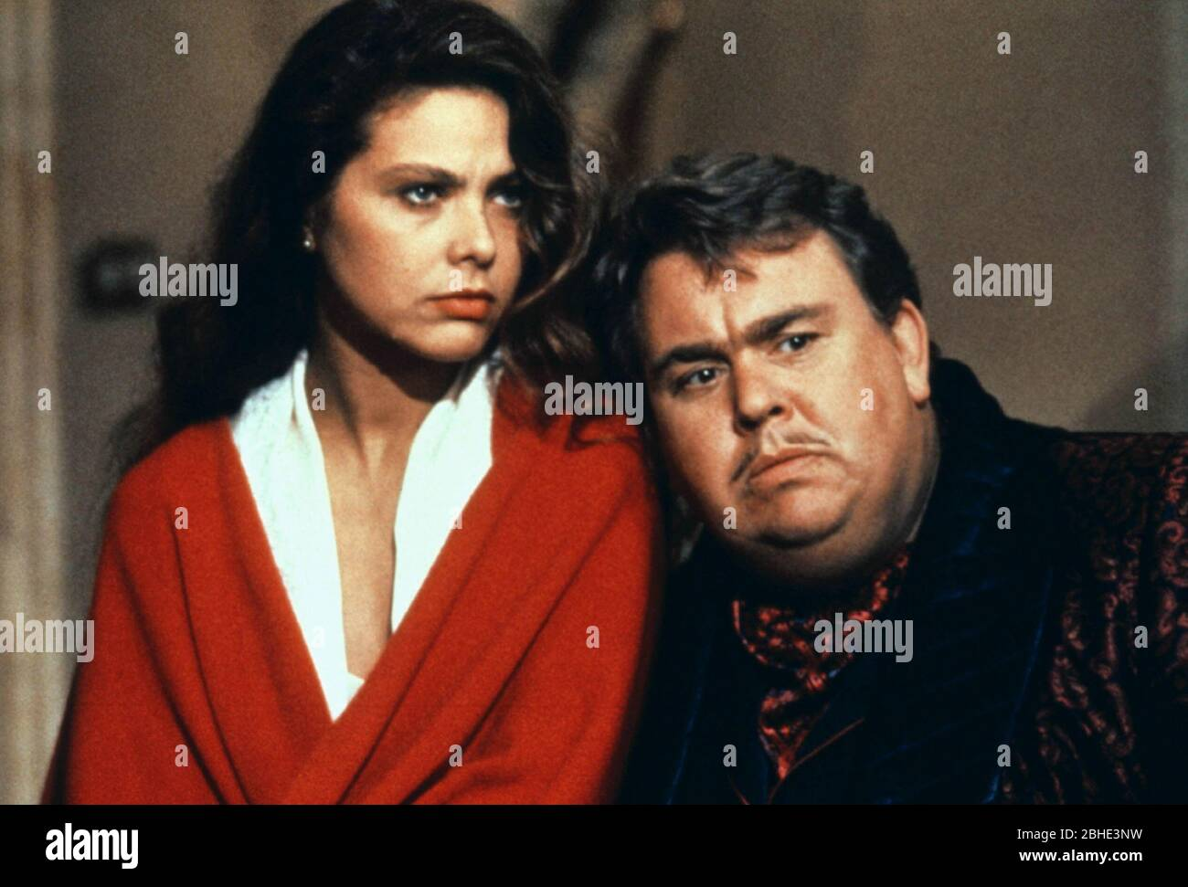 ORNELLA MUTI, JOHN CANDY, ONCE UPON A CRIME..., 1992 Stock Photo