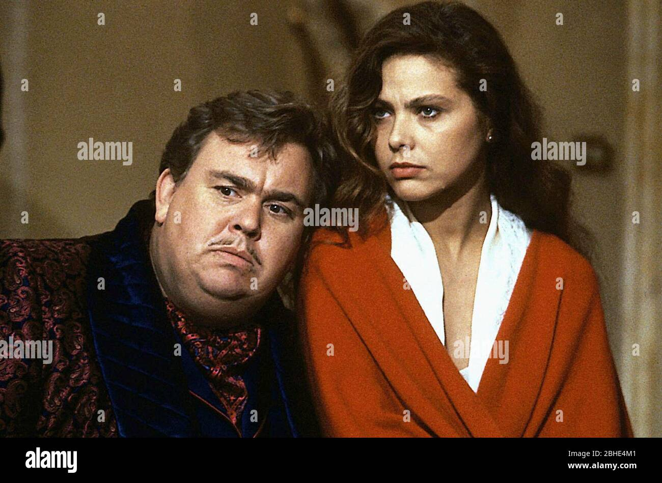 JOHN CANDY, ORNELLA MUTI, ONCE UPON A CRIME..., 1992 Stock Photo