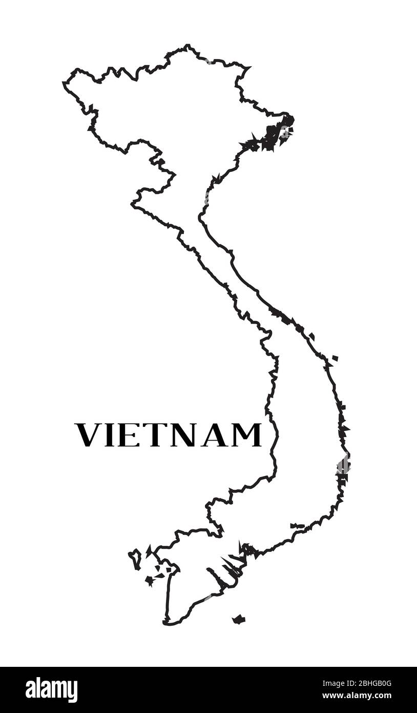 Picture of: Page 3 Map Of Vietnam High Resolution Stock Photography And Images Alamy