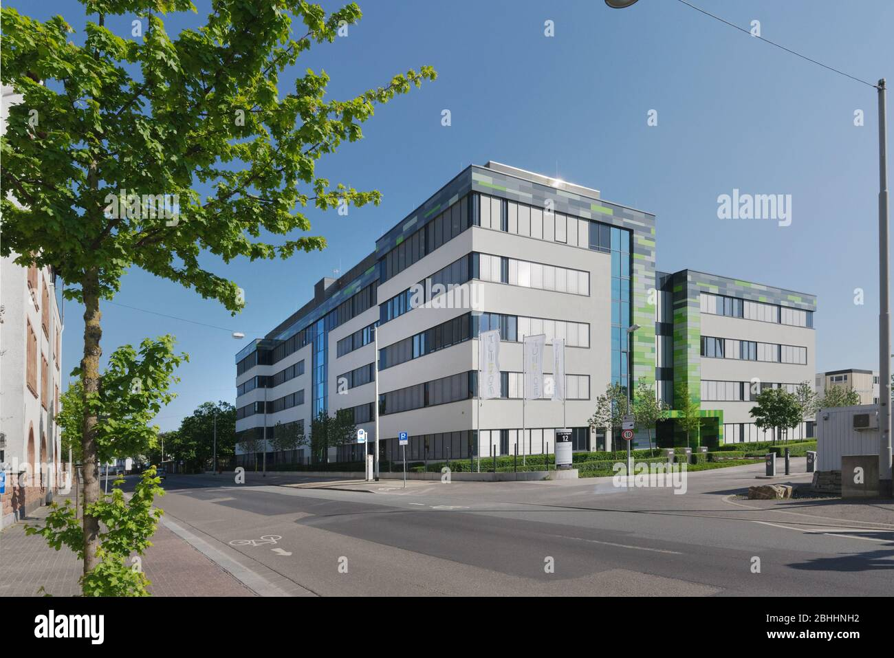 Mainz Germany April 25 2020 The German Biotechnology Company Biontech Conducts Research In The Field Of Developing A Vaccine Against Covid 19 Stock Photo Alamy