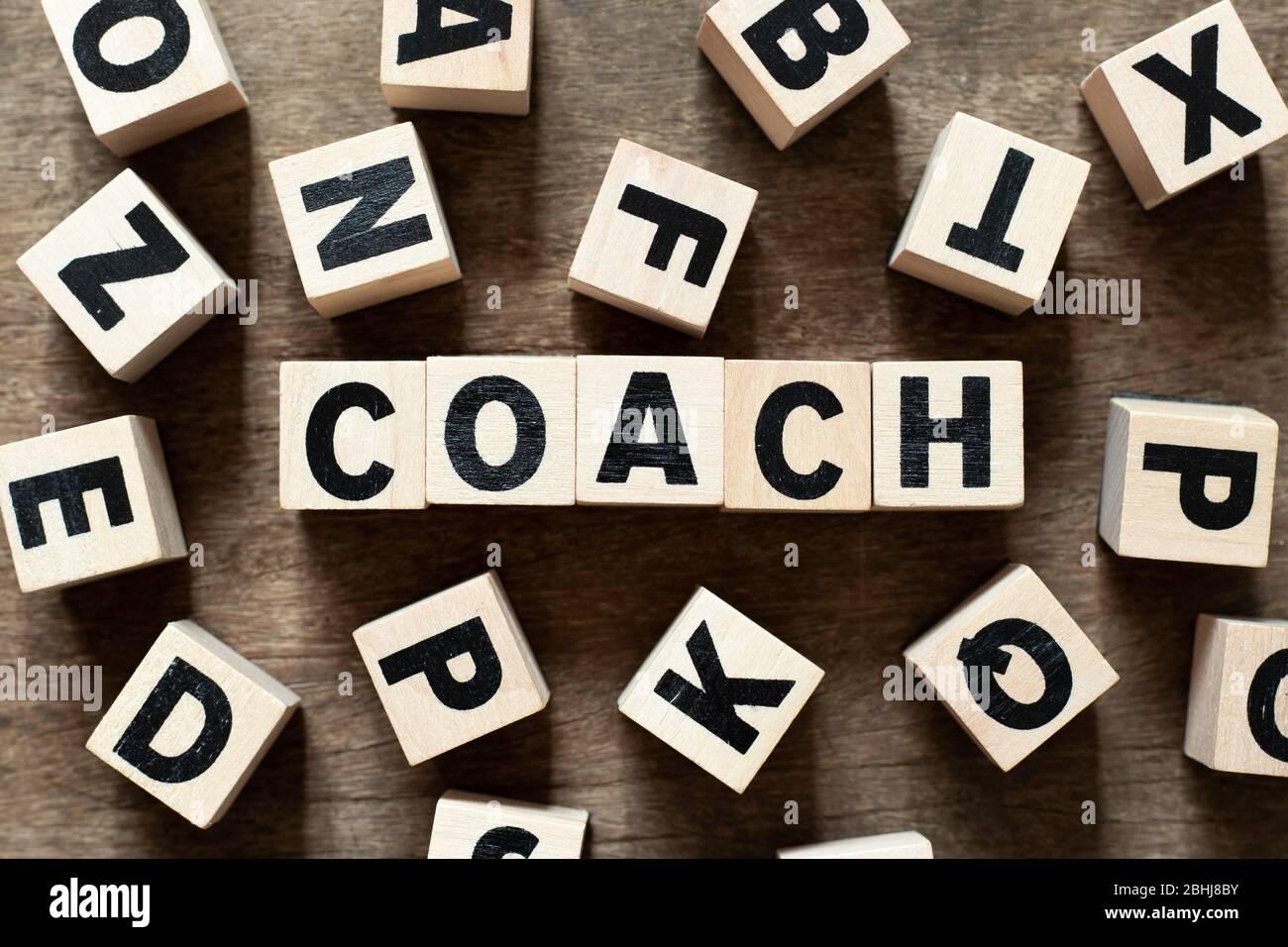 Coach word