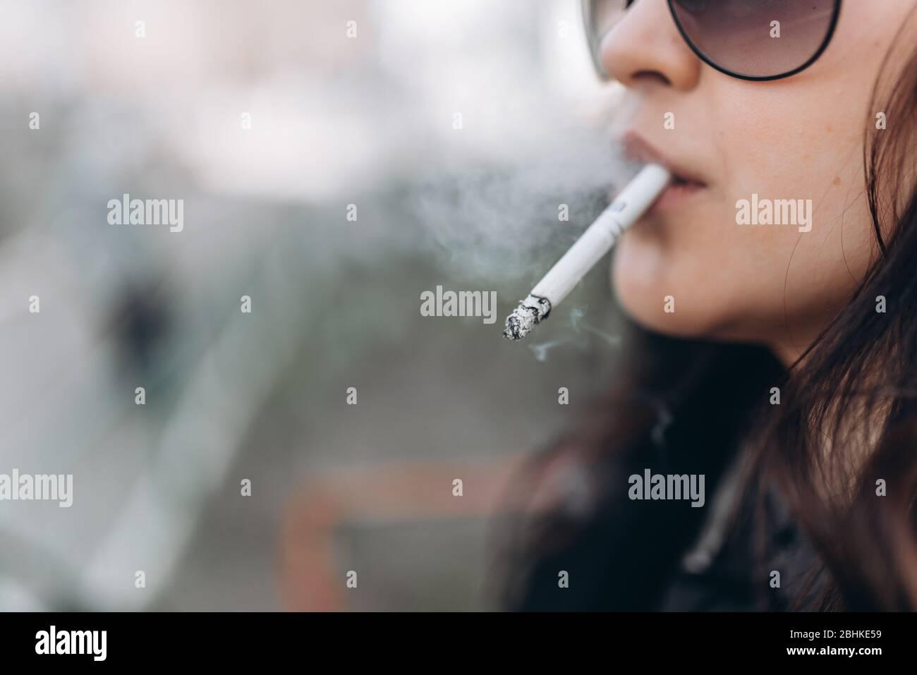 Smoke girl The Smoke