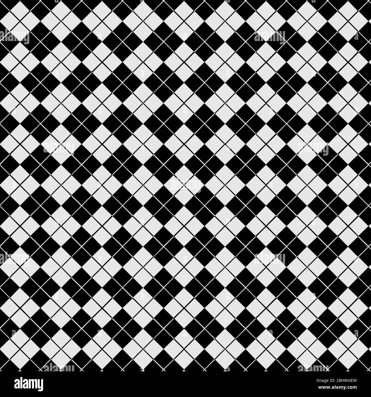 Vector Seamless Pattern Tile Modern Stylish Black And White Texture Abstract Background Wallpaper Stock Vector Image Art Alamy