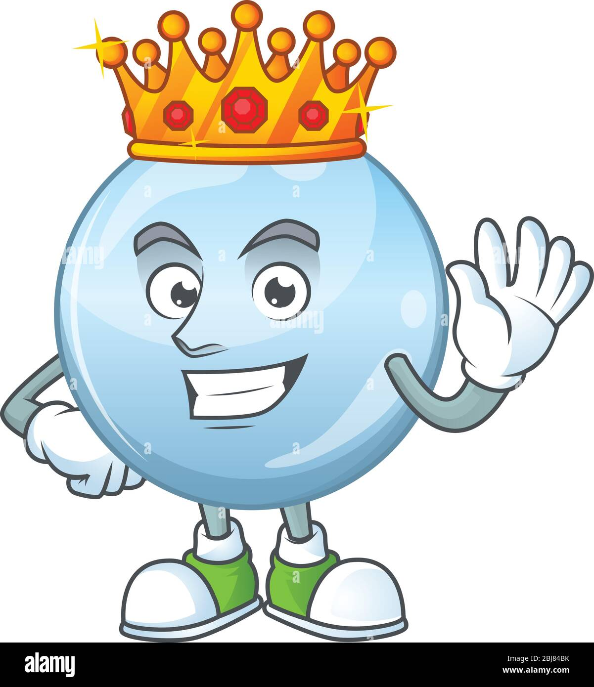 Cartoon King Character Wearing Crown High Resolution Stock Photography And Images Alamy Cartoon king character illustration wearing a crown, holding a sceptre and giving a thumbs up. https www alamy com the charismatic king of collagen droplets cartoon character design wearing gold crown image355450247 html