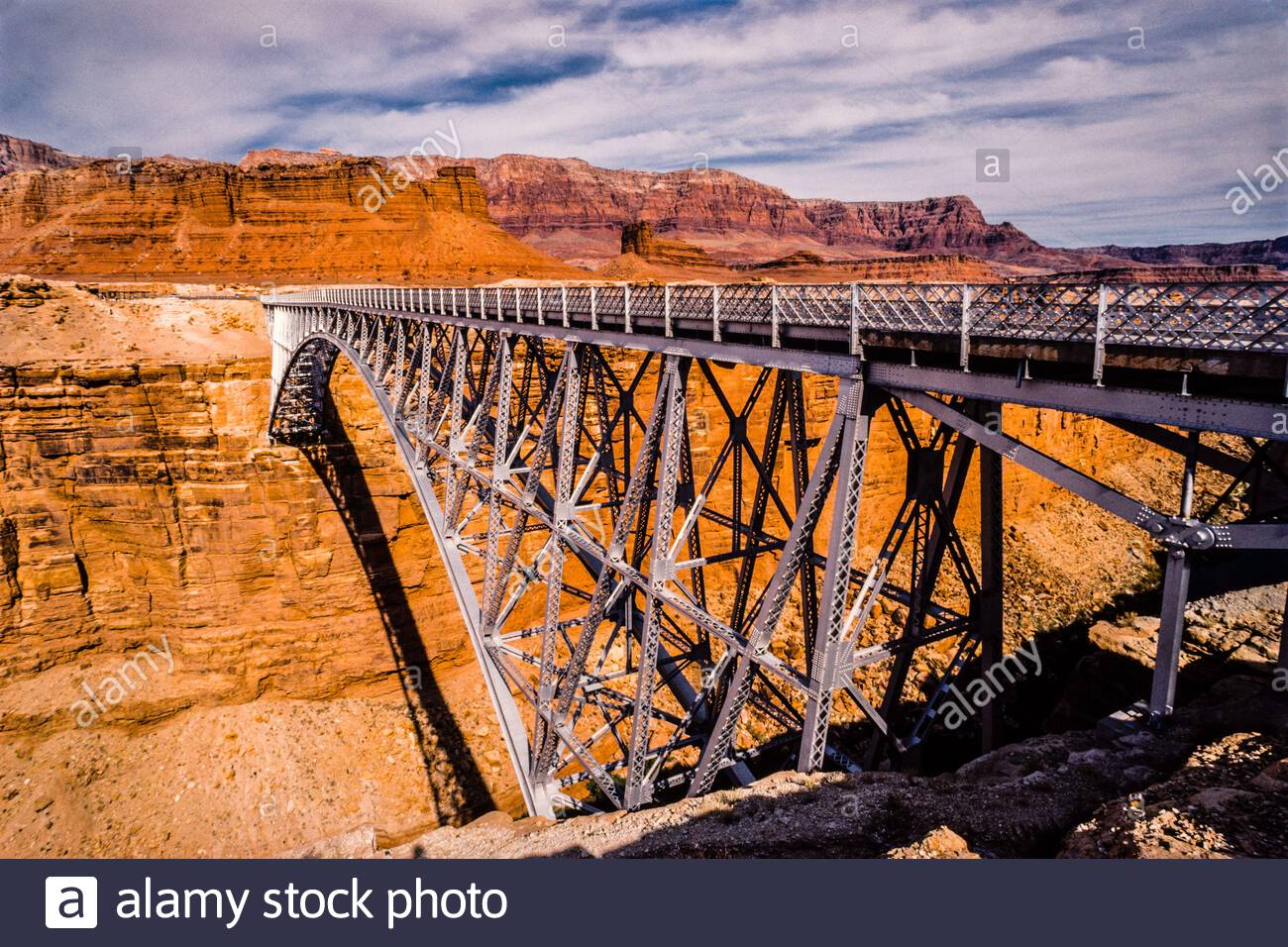 Navajo Bridge   Marble Canyon, Arizona, USA Stock Photo
