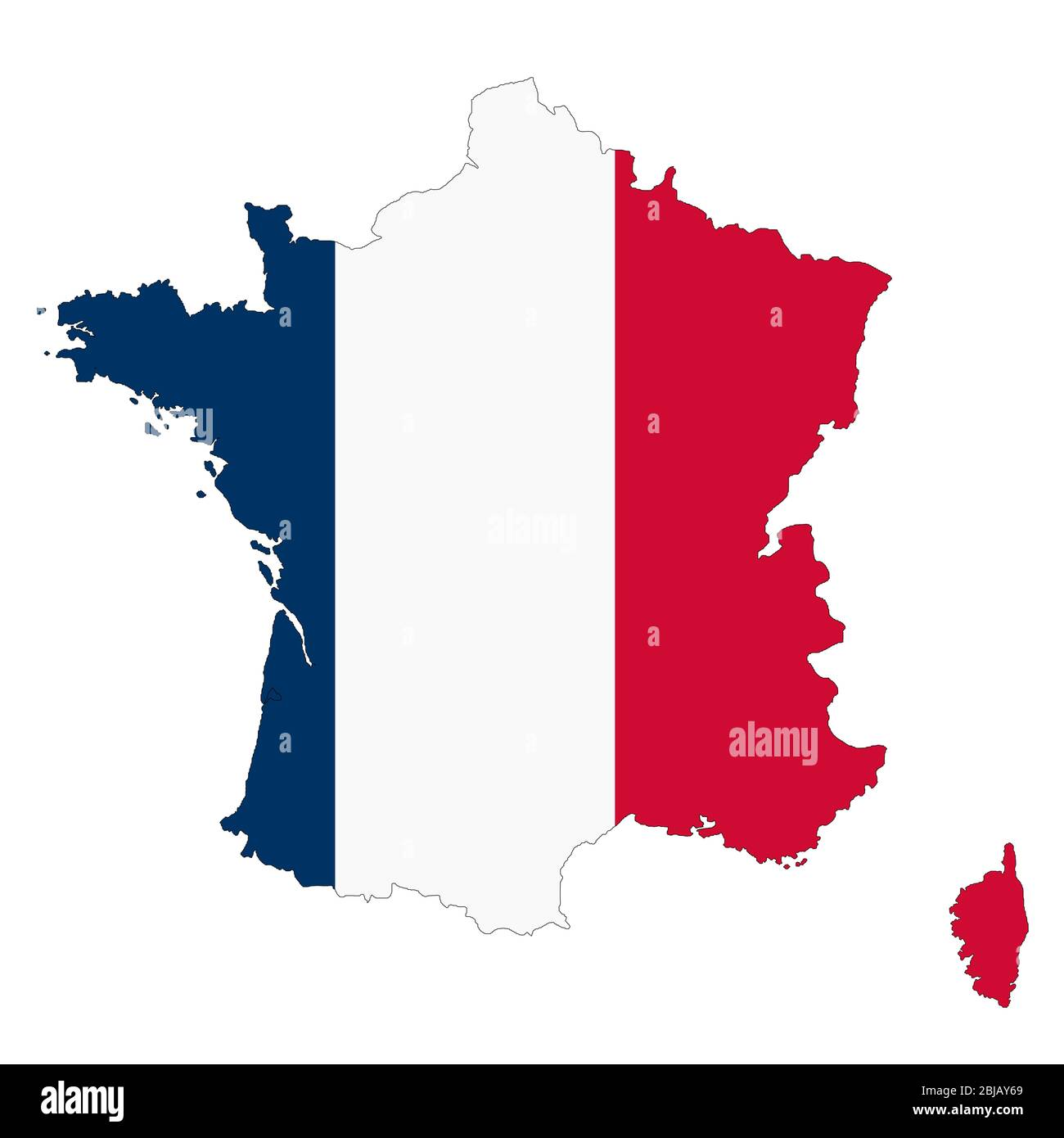 Picture of: Outline Map France High Resolution Stock Photography And Images Alamy