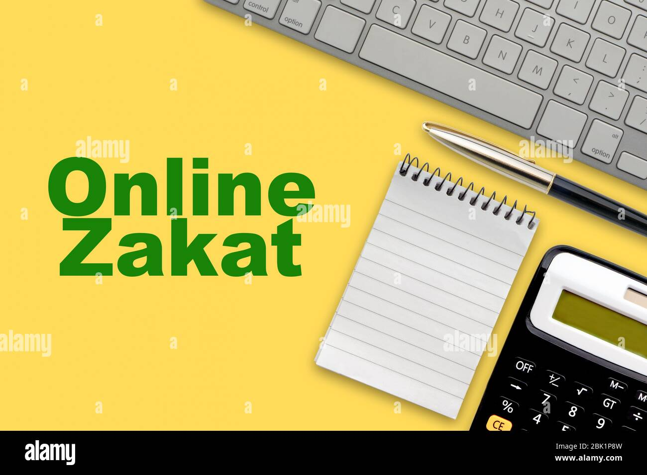 zakat high resolution stock photography and images alamy https www alamy com online zakat islamic tax text with notepad calculator keyboard and fountain pen on yellow background zakat islamic tax business and islamic co image355925273 html