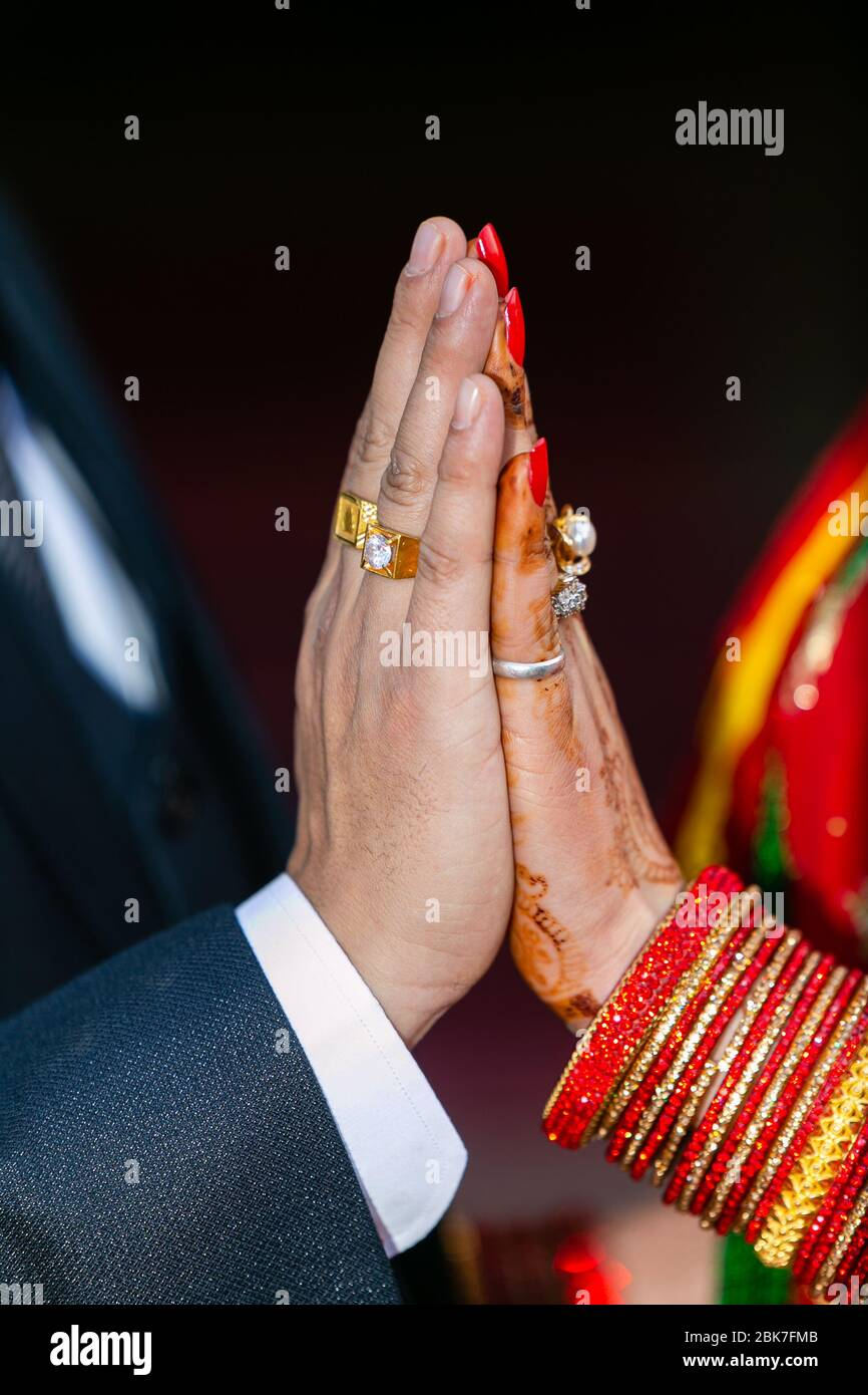 Indian Hindu Engagement Ring Ceremony High Resolution Stock Photography And Images Alamy Here you can explore hq hindu transparent illustrations, icons and clipart with filter setting like size, type, color etc. https www alamy com closeup view of newly wed bride and groom hands with wedding rings hindu wedding ceremony together for always image356051819 html