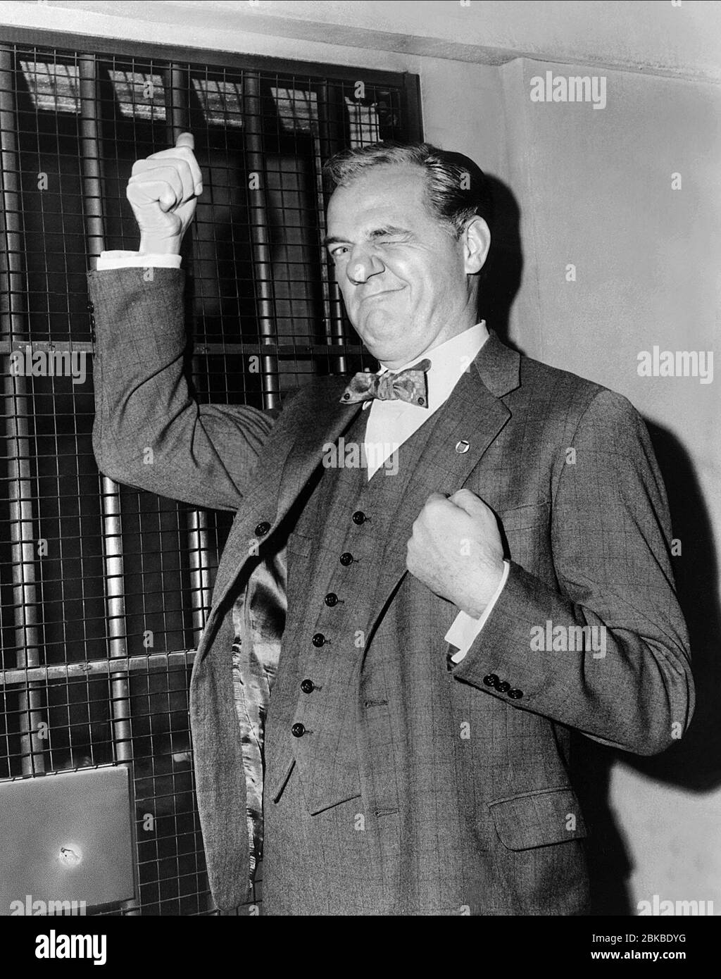 KARL MALDEN, THE BIRDMAN OF ALCATRAZ, 1962 Stock Photo