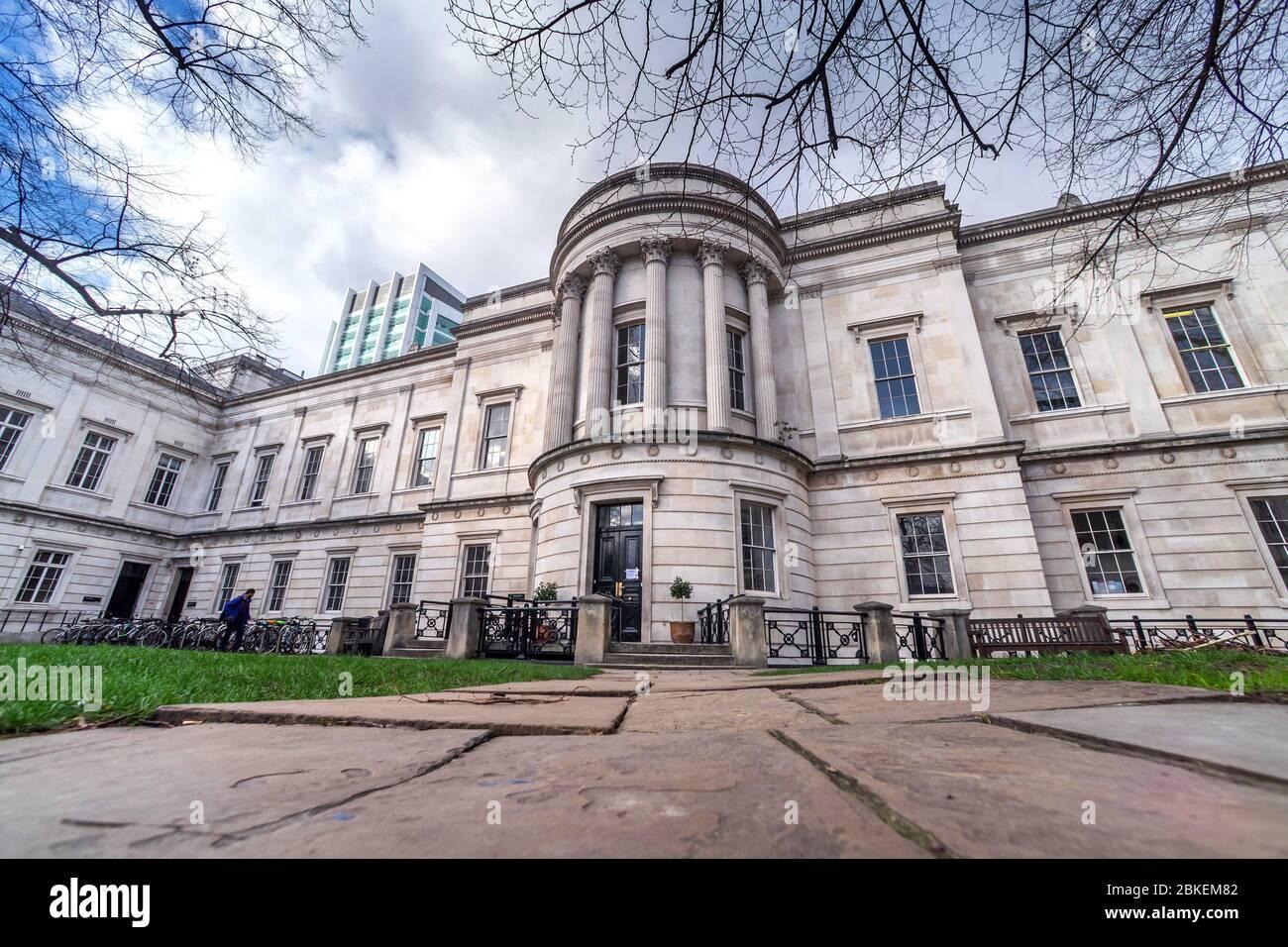 Slade School of Art, UCL University College London. North Wing, Gower Street, London. Stock Photo