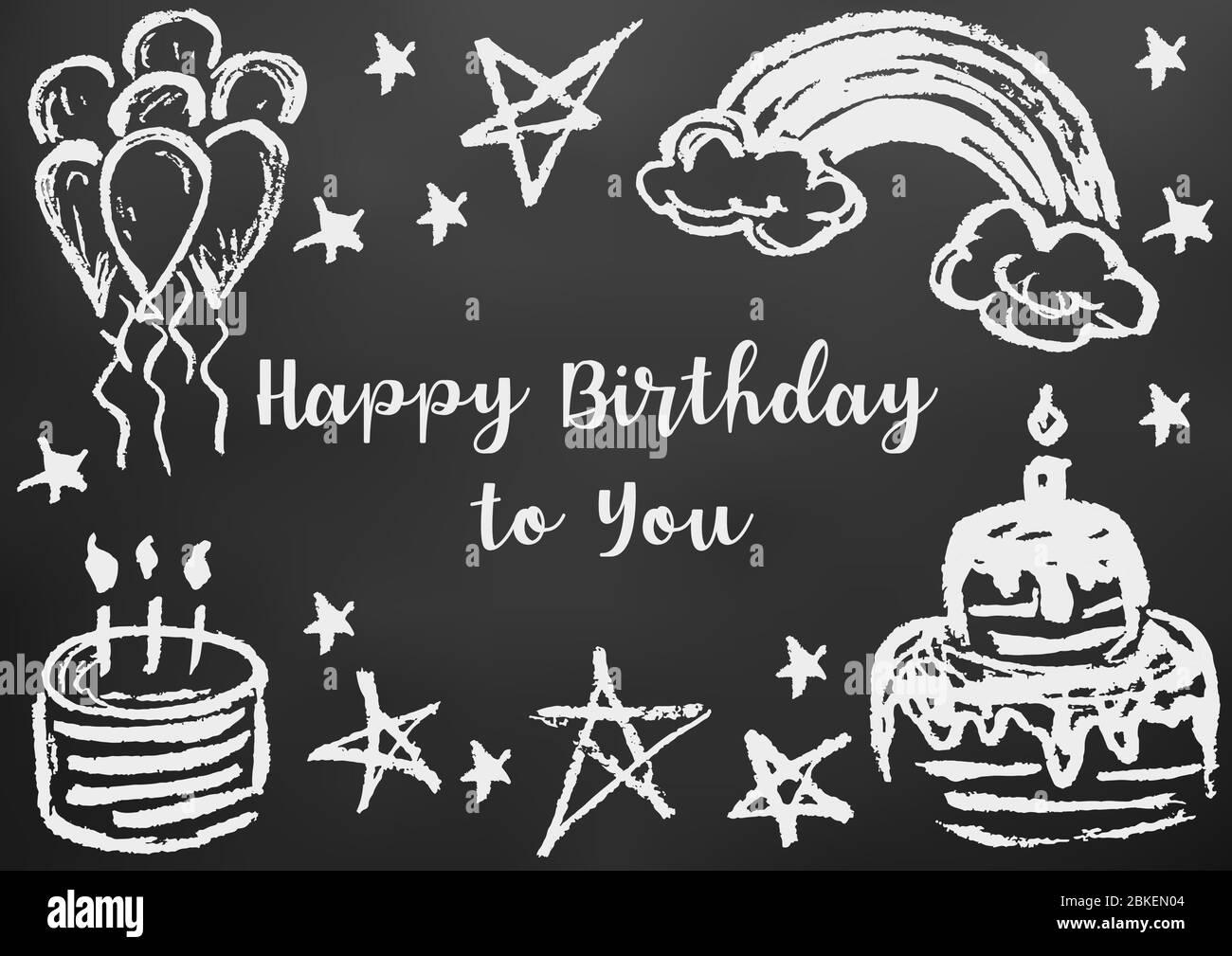 Enjoyable Stars Balloons Happy Birthday Wishes Stock Photos Stars Balloons Personalised Birthday Cards Veneteletsinfo
