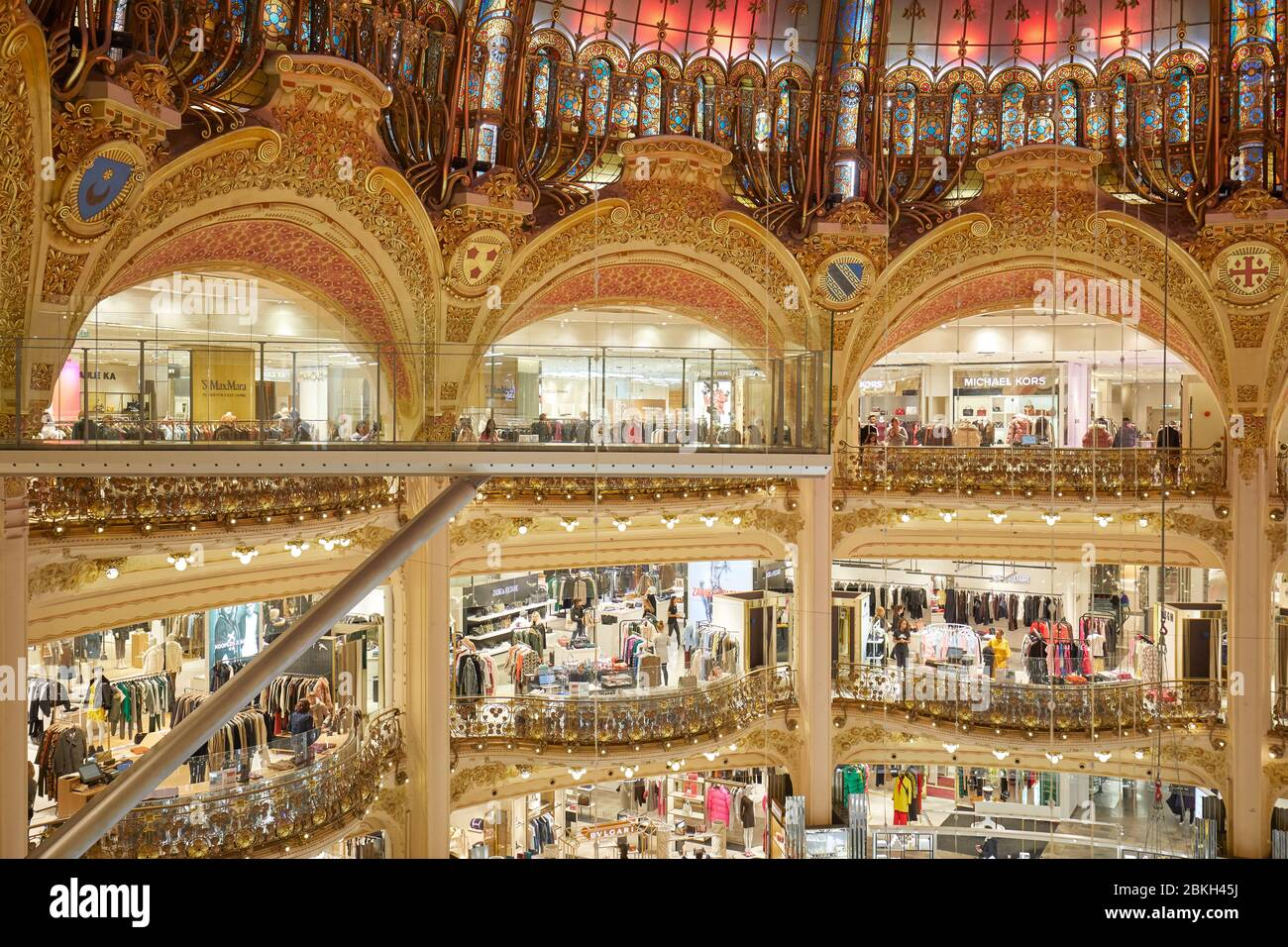 Galeries Lafayette High Resolution Stock Photography and Images ...