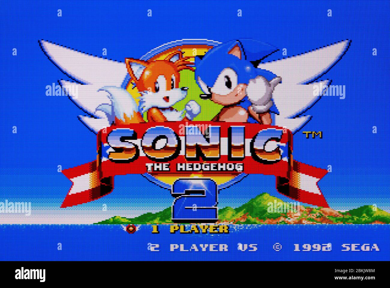 Sonic The Hedgehog 2 Sega Genesis Mega Drive Editorial Use Only Stock Photo 356300804 Alamy