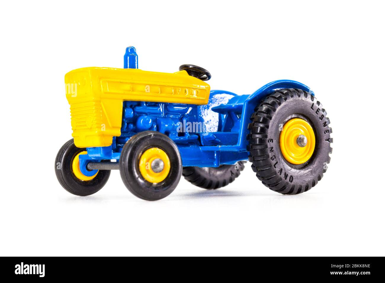 Lesney Products Matchbox model toy car 1-75 series no.39 Ford Tractor Stock Photo