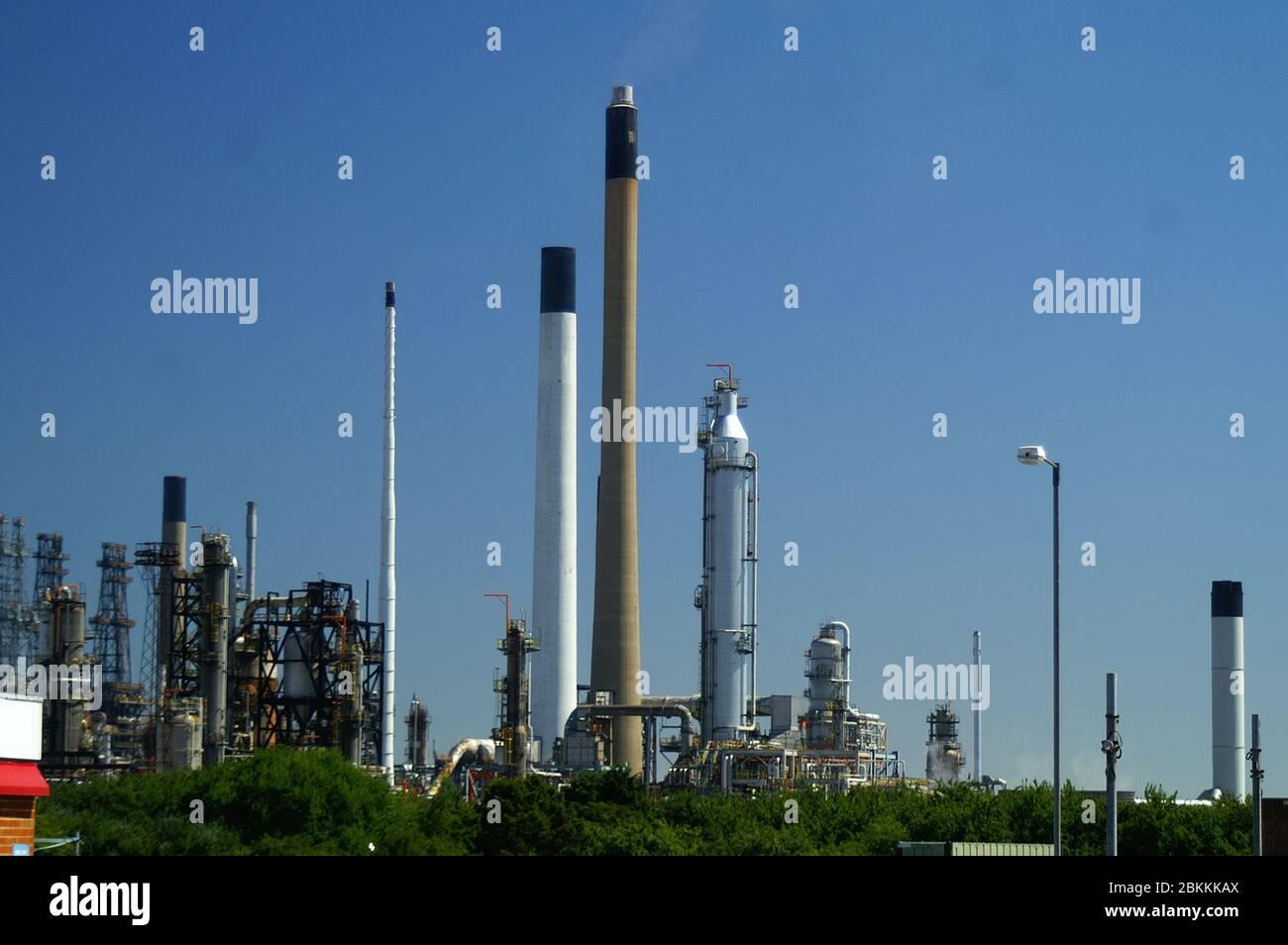 industrial refinery, Australia Stock Photo