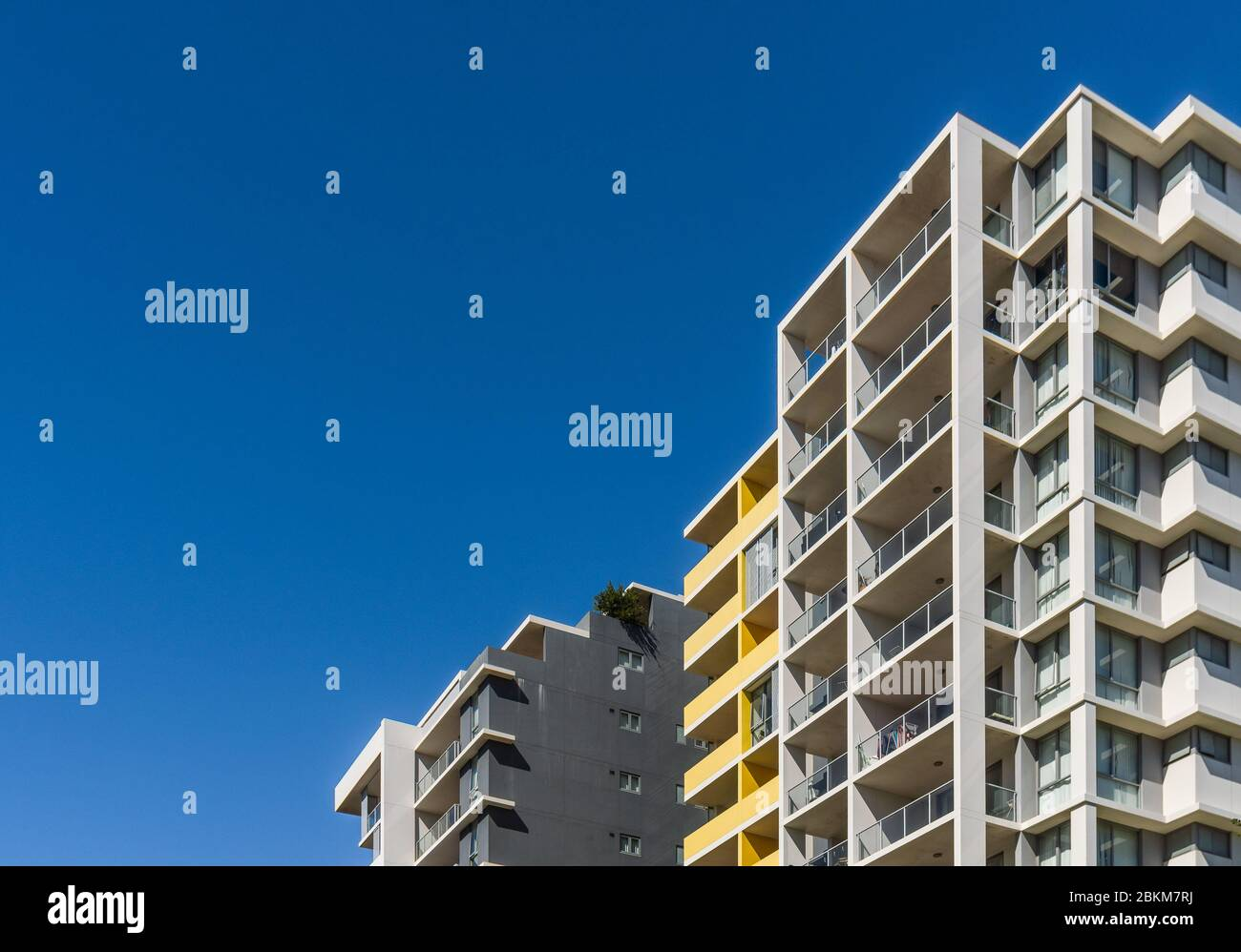 High rise apartments in Mascot, South Sydney Stock Photo