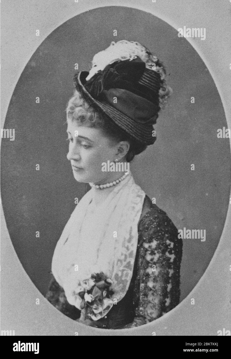 Hélène Standish (1847-1933) A. Stock Photo