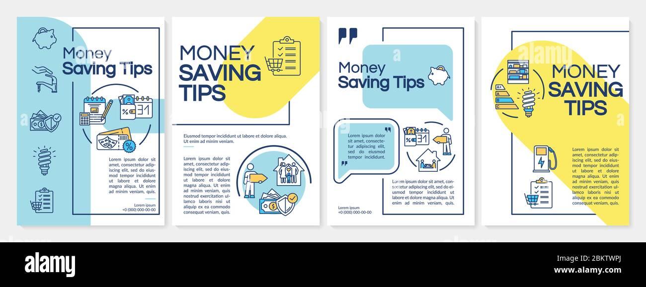 Money Saving Template from c8.alamy.com