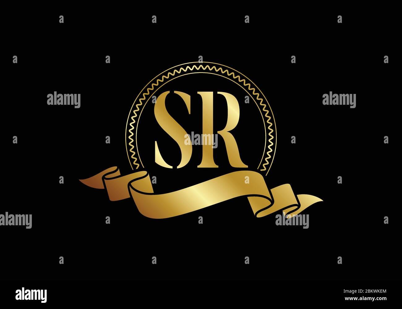 Initial Monogram Letter Sr Logo Design Vector Template Graphic Alphabet Symbol For Corporate Business Identity Stock Vector Image Art Alamy