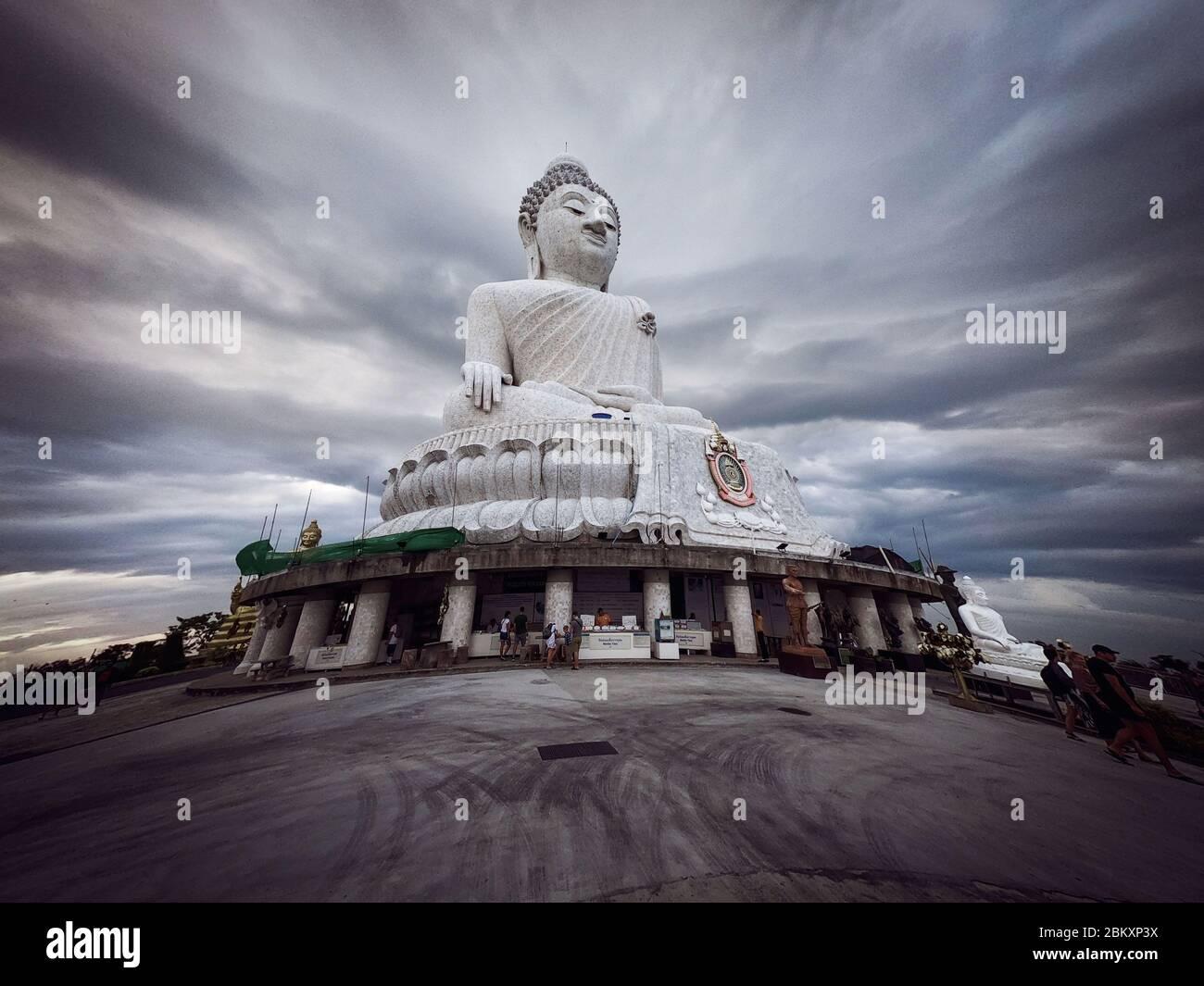 Big Buddha Statue - Maravija Buddha statue On Nakkerd Hill, Phuket, Thailand 20/11/2019 Stock Photo