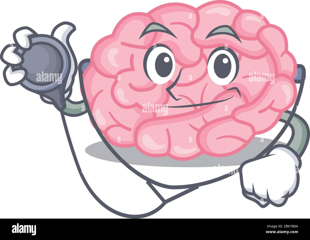 Cartoon Brain High Resolution Stock Photography And Images Alamy