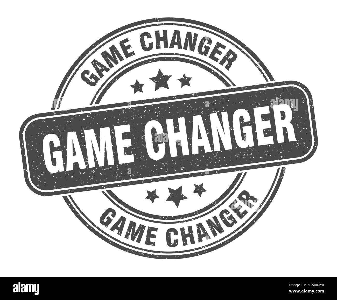 Game Changer Stamp Game Changer Label Round Grunge Sign Stock Vector Image Art Alamy