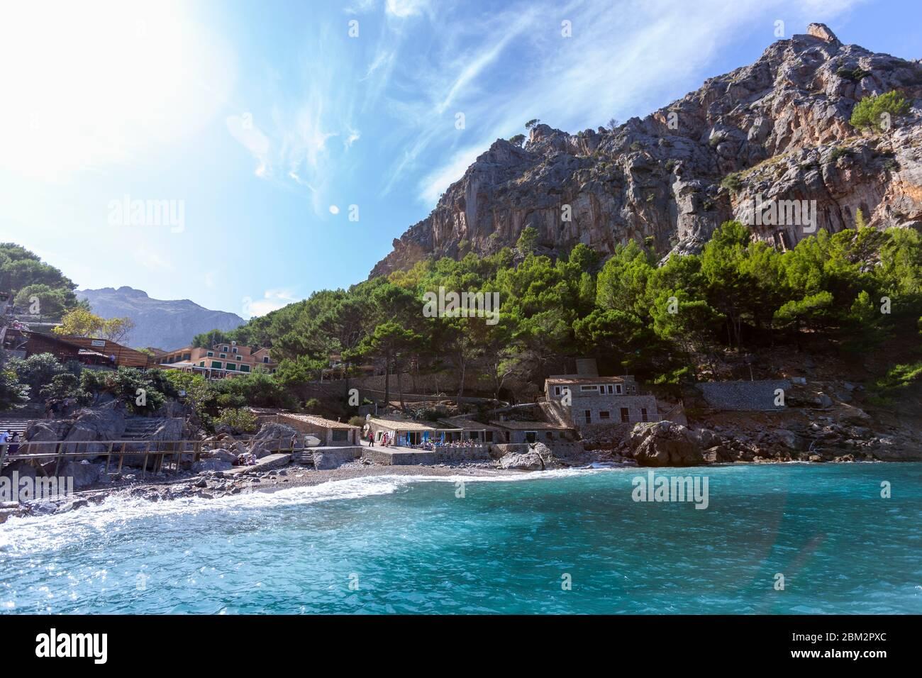 Torrent de Pareis , Sa Calobra, Balearic Islands, Spain Stock Photo