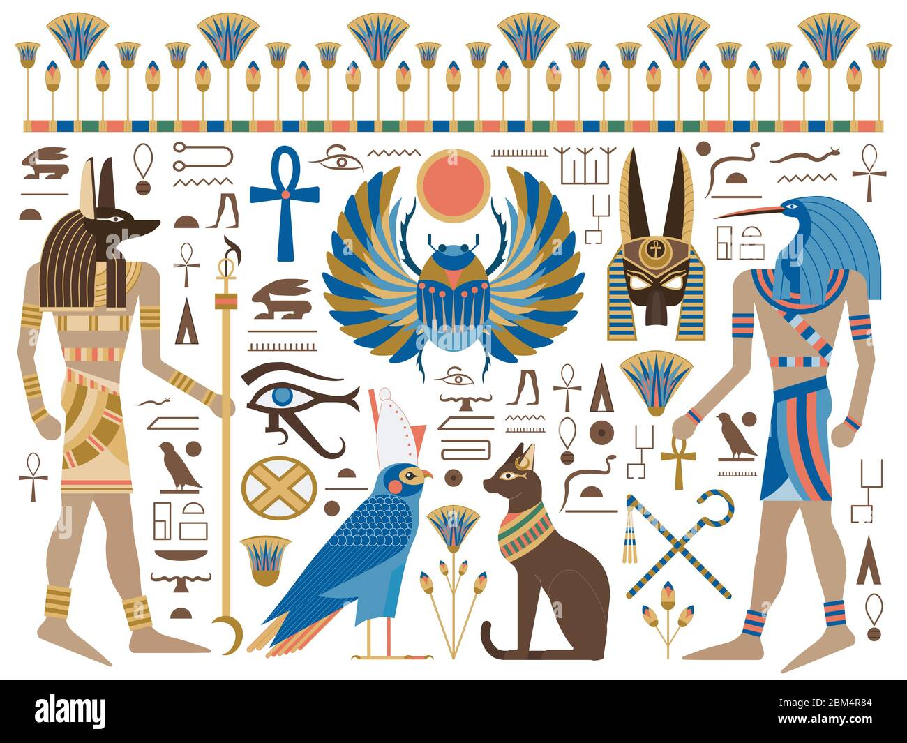 Ancient Egyptian Gods High Resolution Stock Photography And Images Alamy