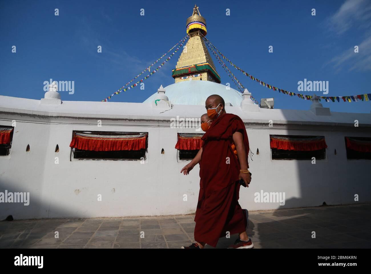 Kathmandu Authentic Tibetan Monk 3 Piece Outfit Bought At Boudanath Temple
