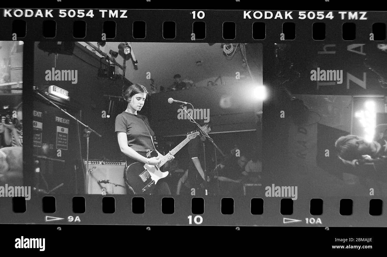 Elastica live at the Zap Club in Brighton.  6th September 1994 Photography James Boardman Stock Photo