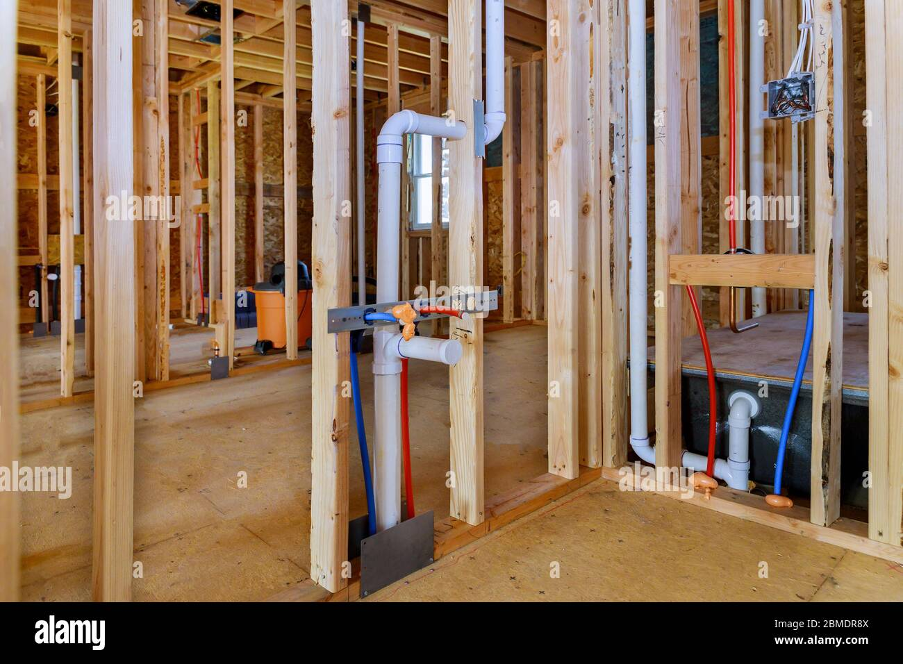 Pex Pipe Installation High Resolution Stock Photography And Images Alamy