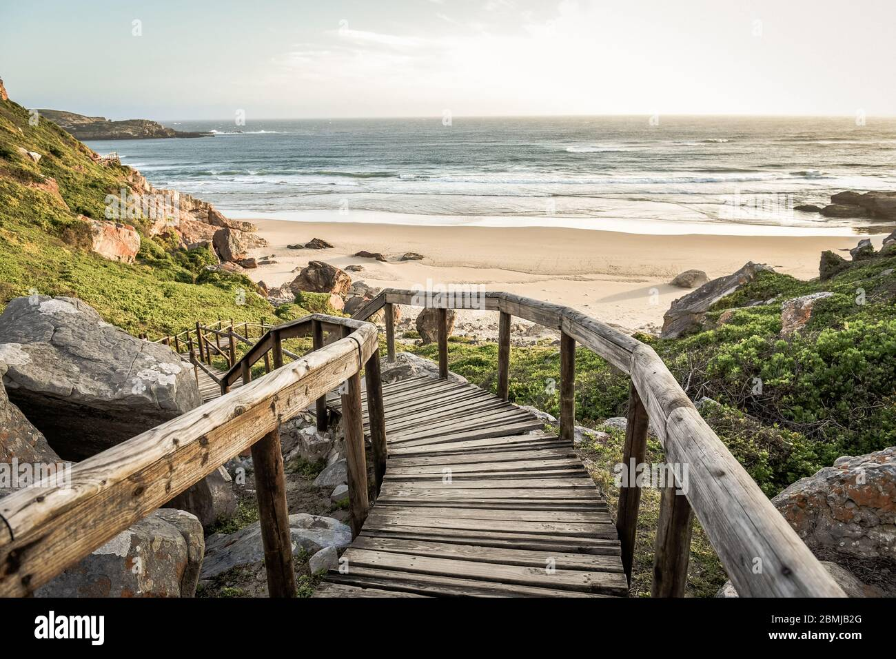 Robberg Nature Reserve, Plettenberg Bay, Garden Route, South Africa Stock Photo