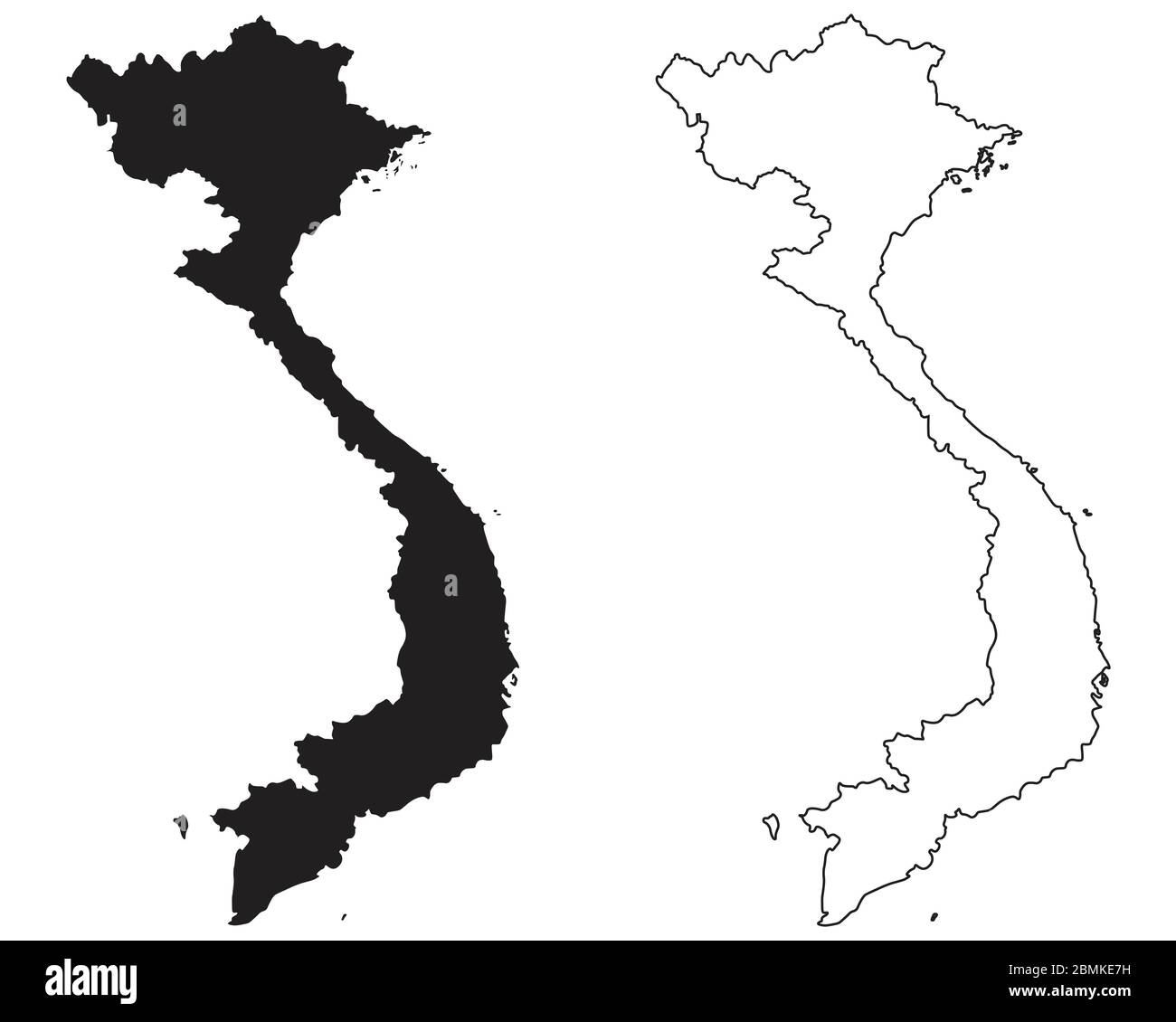 Picture of: Vietnam Outline High Resolution Stock Photography And Images Alamy