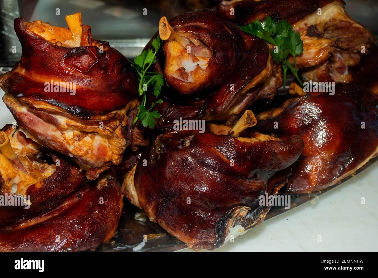 Schweinshackse Schweinshaxe: Rezept