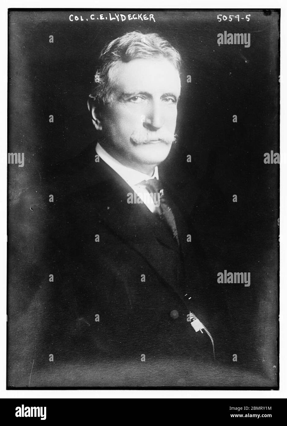 Col. C.E. Lydecker (LOC) by The Library of Congress Stock Photo