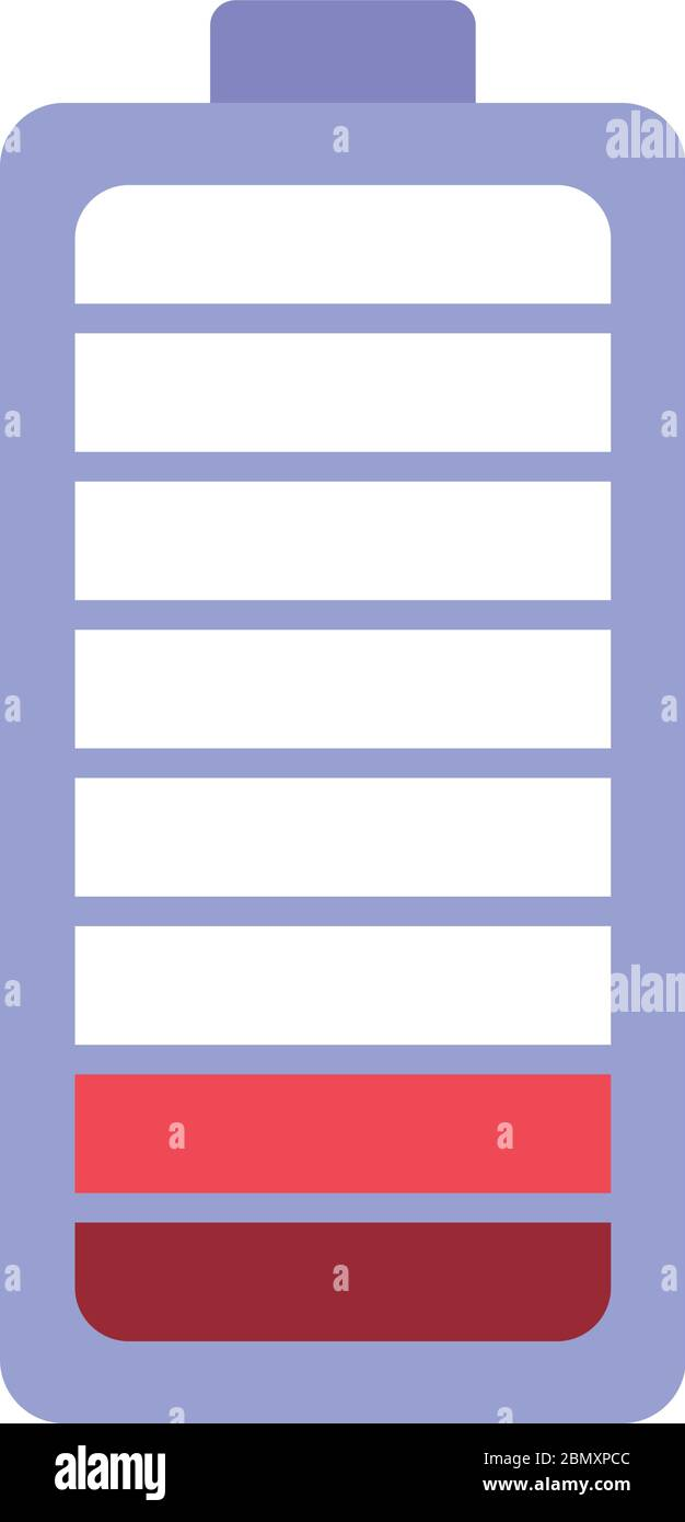 isolated low battery vector design stock vector image art alamy alamy