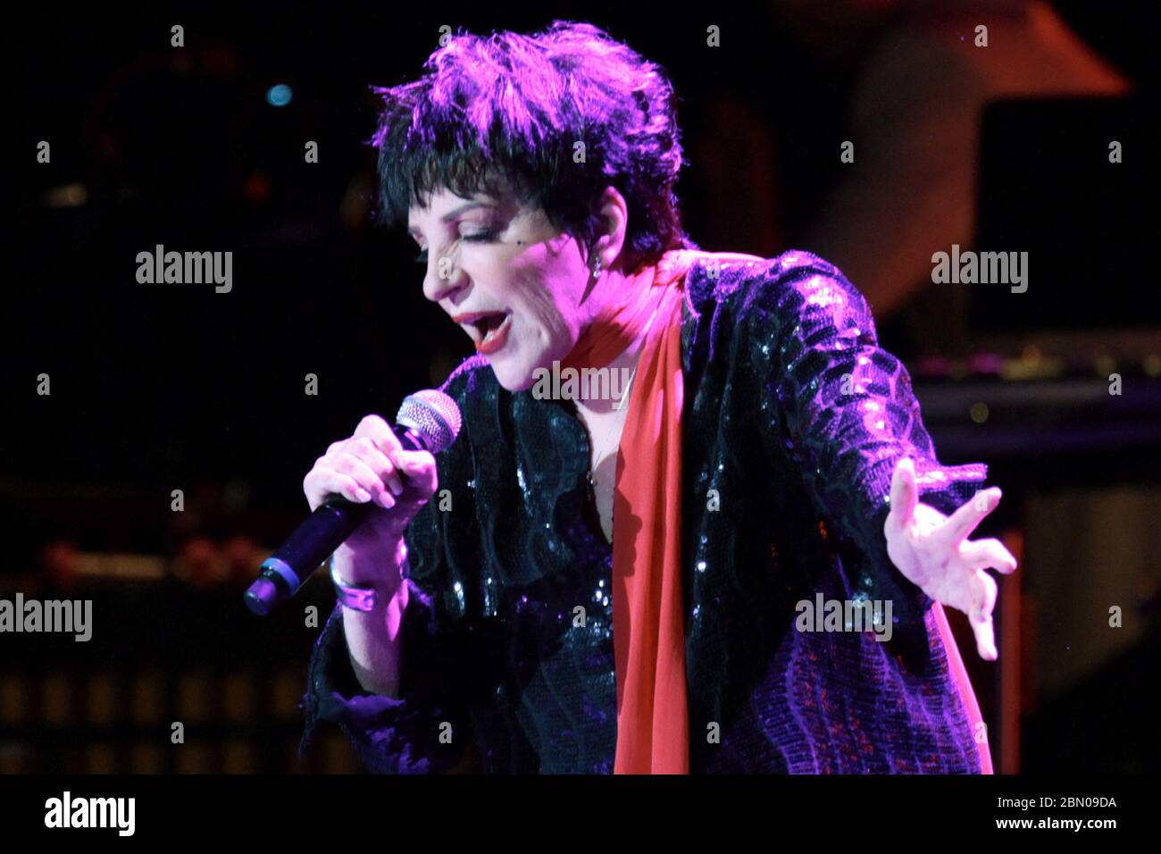 Liza May Minnelli High Resolution Stock Photography and