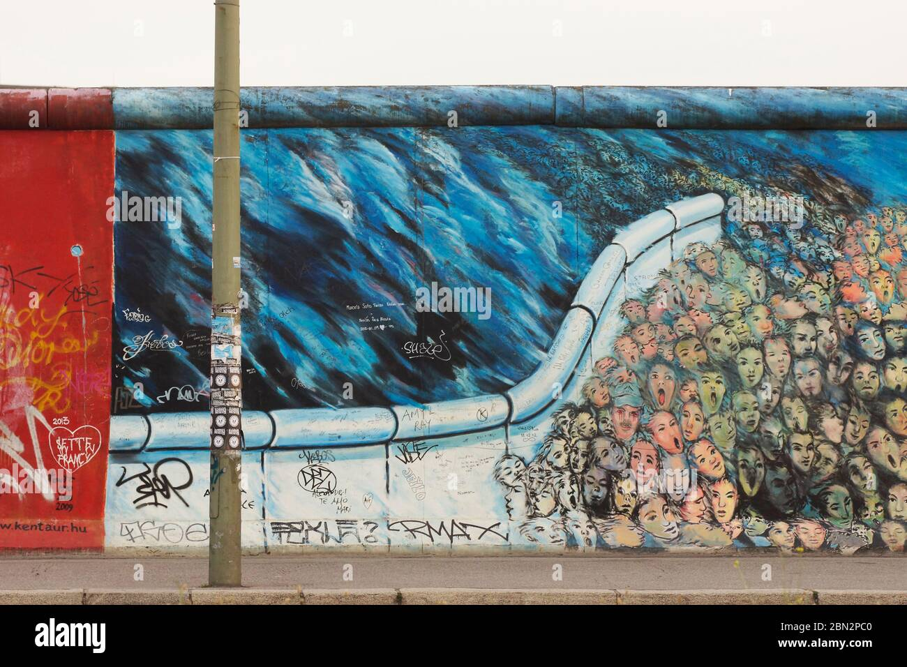 Berliner Mauer Graffiti High Resolution Stock Photography And Images Alamy
