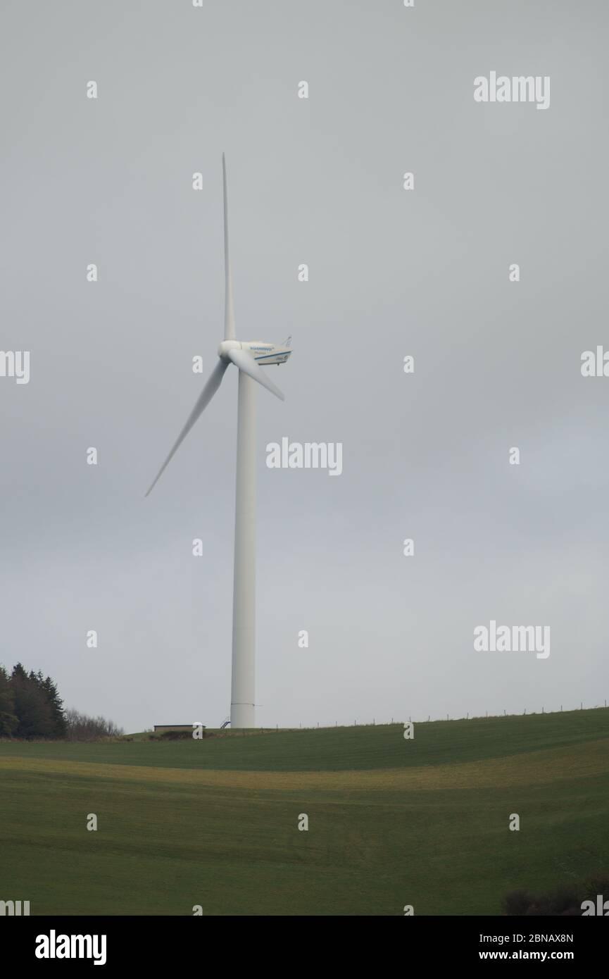 Windkraft Stock Photo