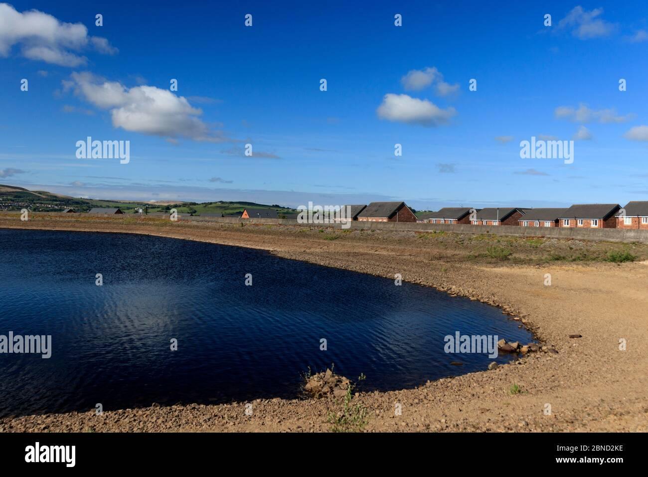 Fishmoor reservoir Stock Photo