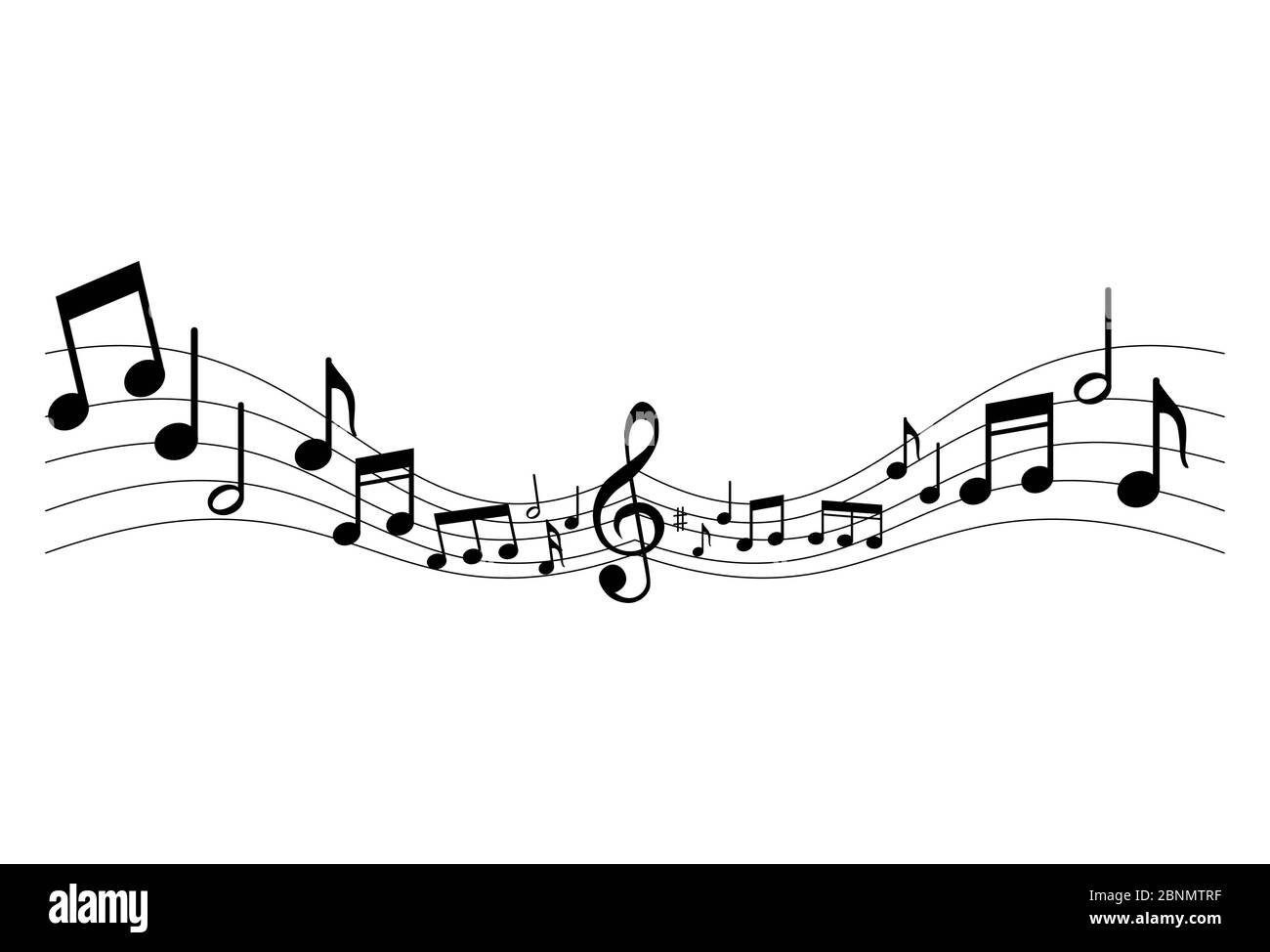 Music Notes High Resolution Stock Photography And Images Alamy