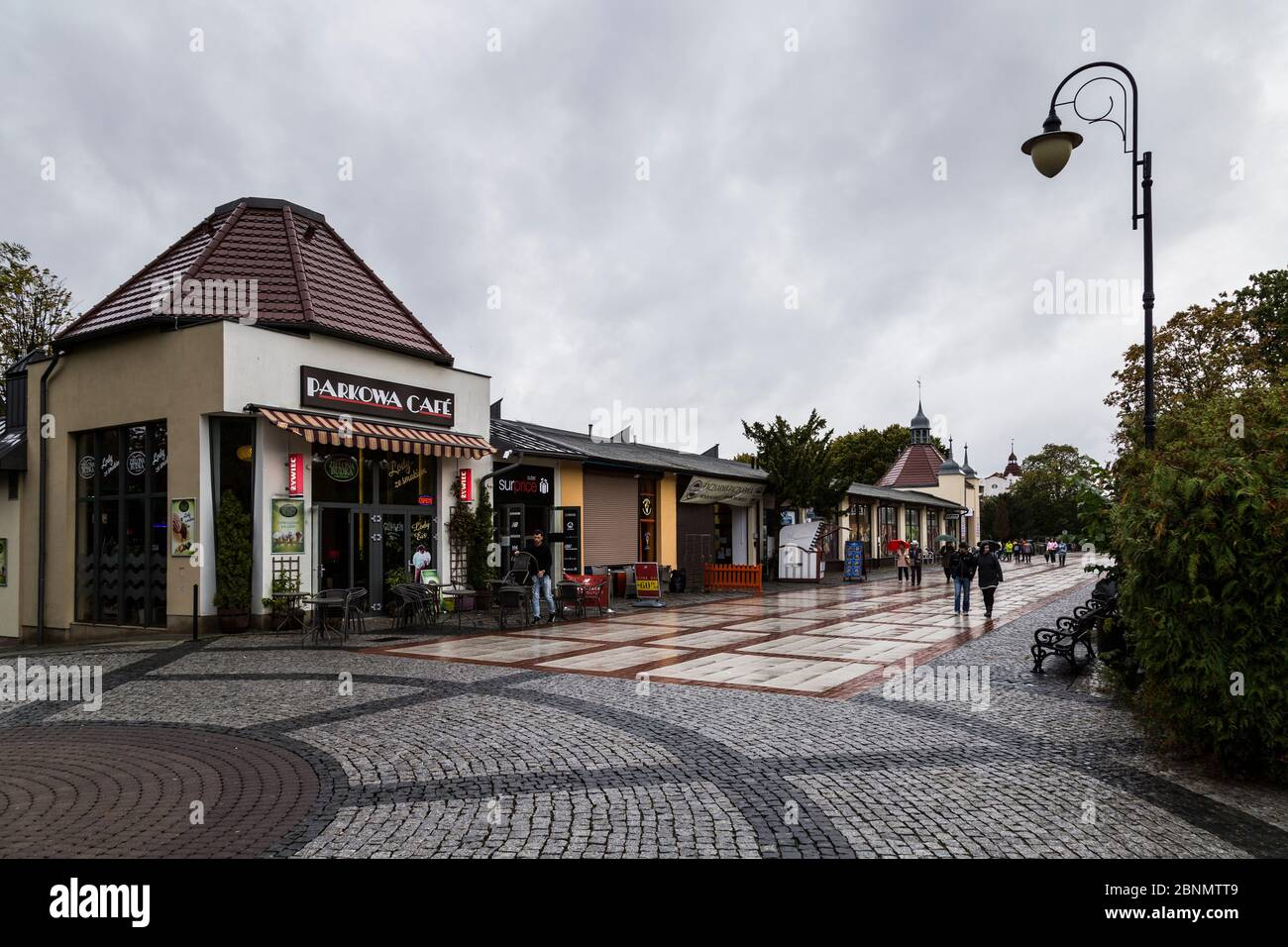 Europe, Poland, West Pomeranian Voivodeship, Swinoujscie / Swinemünde Stock Photo