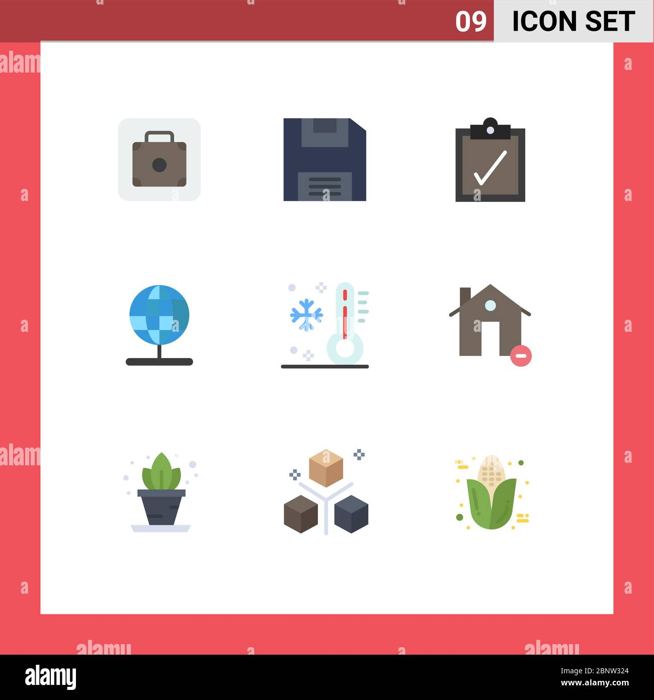 Pictogram Set Of 9 Simple Flat Colors Of Vacation Summer Task Low World Editable Vector Design Elements Stock Vector Art Illustration Vector Image 357666348 Alamy